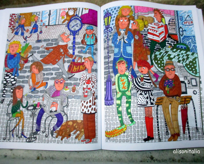 coloriage anti stress adultes issu du livre incroyables coloriages pen 68 pen 88 stabilo triplus staedtler - Livre De Coloriage Anti Stress