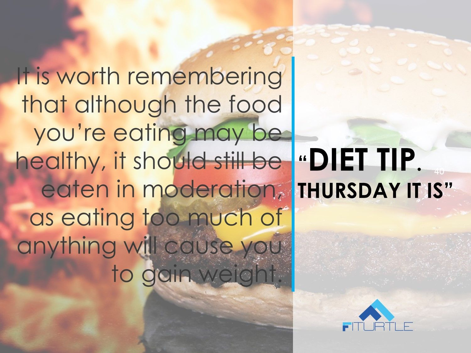 #FIT  #RightFood  #DietTip  #StayHealthy   THURSDAY IT IS, Here Comes The Food Tip! Choose what you eat. Eat Well. Eat Right.