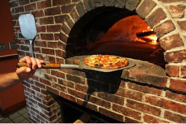 Red Brick Pizza Oven That Place Is Great