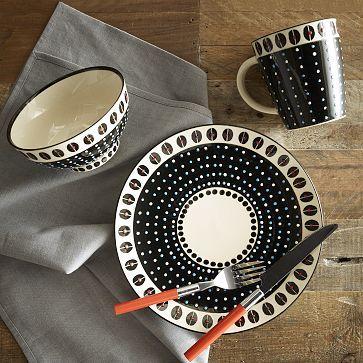I like this design. Potter's Workshop Tableware - Dot on westelm.com