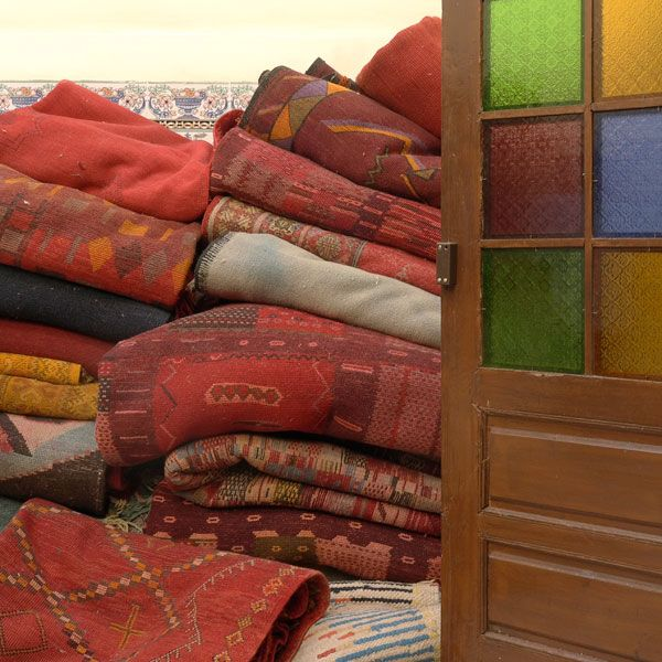 Shopping in the Souks: Rugs + Carpets