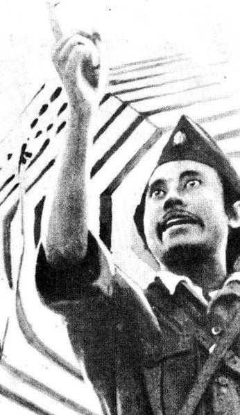 Bung Tomo Png : Tomo,, Indonesian, Resistance, Leader, Giving, Speech, Youth, British, Force, Ultimatum, Indonesian., Surabaya, Gambar