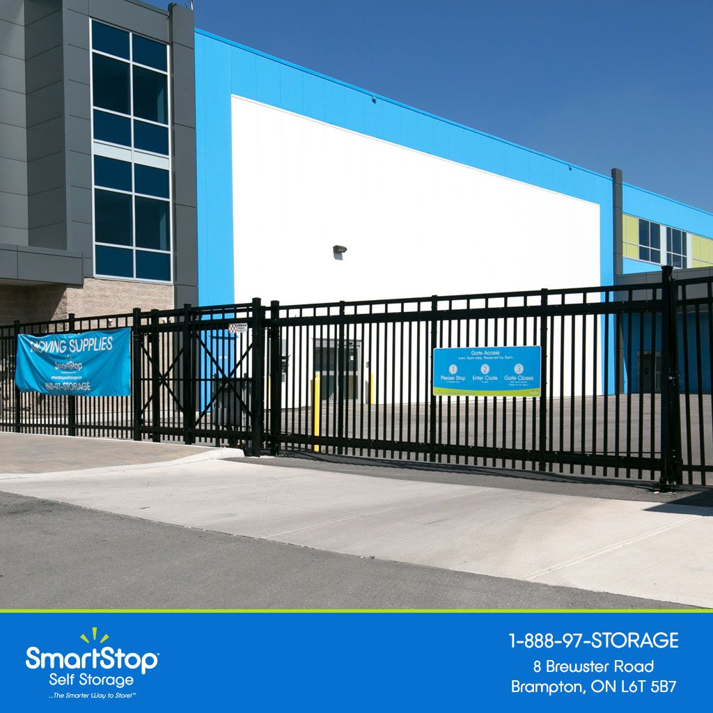 Ssmartstop Self Storage Units Ontario Brewster Rd Security Gate Self Storage Self Storage Units The Unit