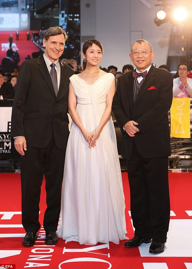 International lineup:French film director Jacques Cluzaud joined Japanese actors Fumino K...