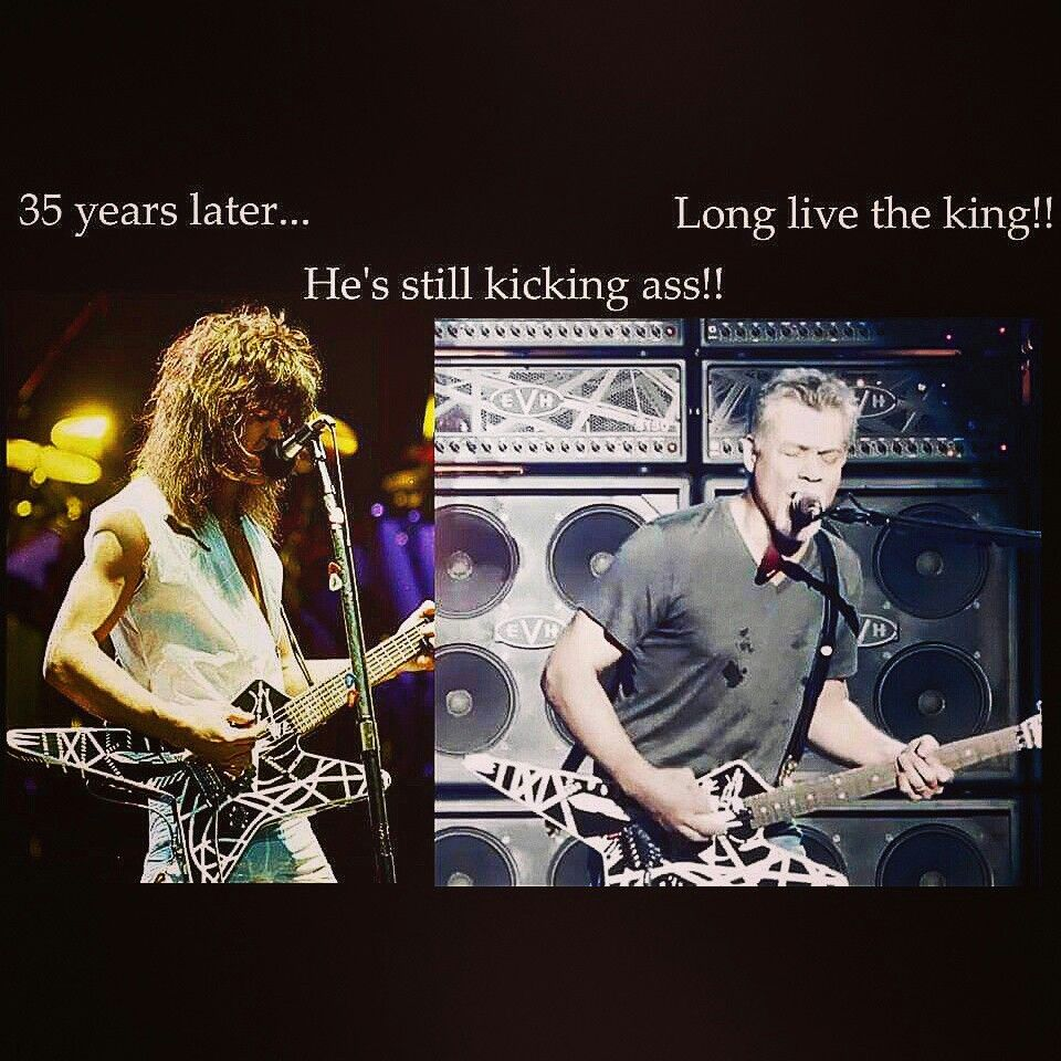 Pin By Jerry F On Eddie Van Halen Van Halen Eddie Van Halen Guitarist