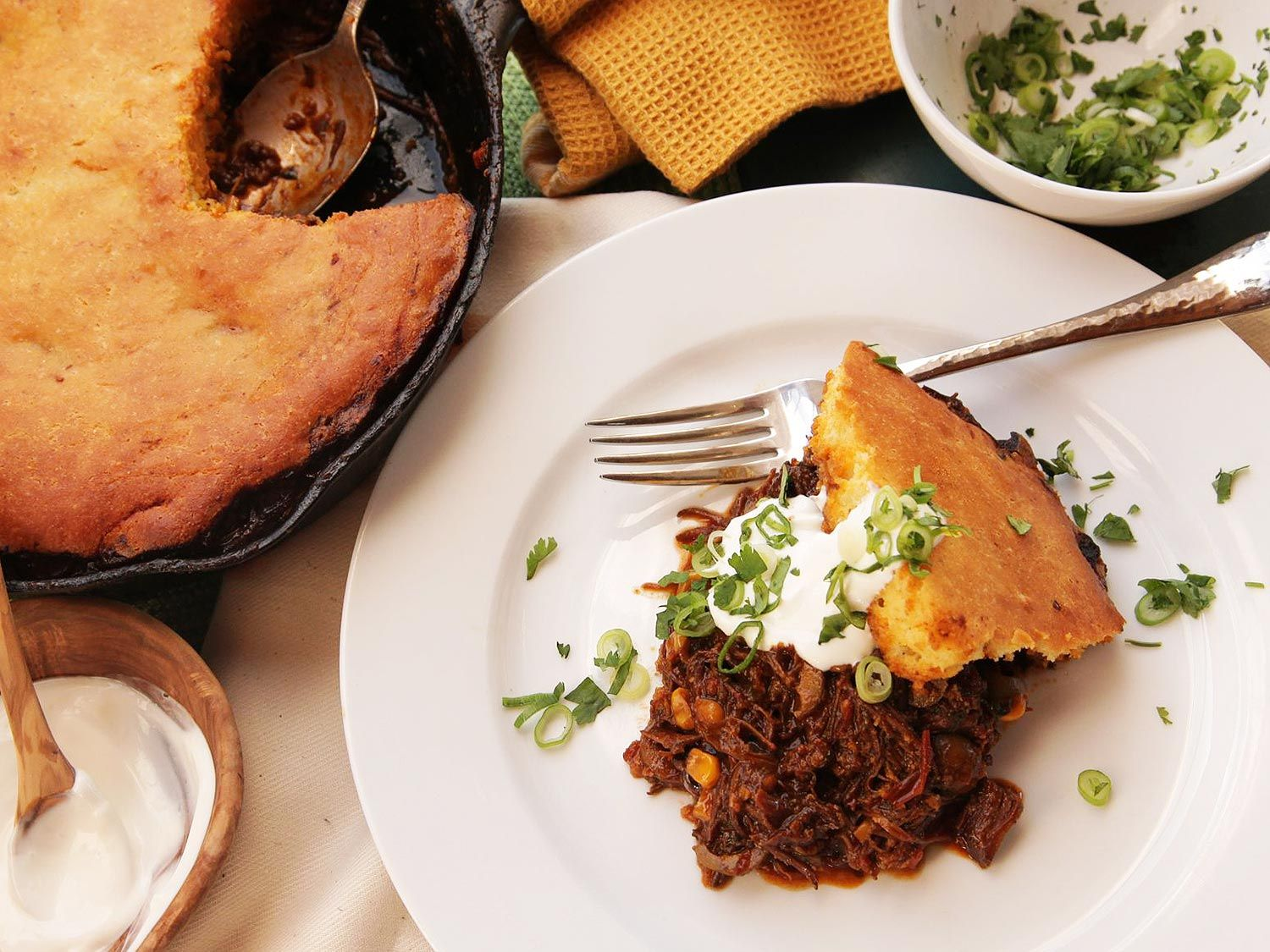 Upgrade Your Tamale Pie With Braised Skirt Steak and a ...