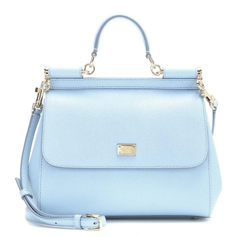 dab91cea649f Dolce   Gabbana - Miss Sicily Mini leather shoulder bag - mytheresa ...
