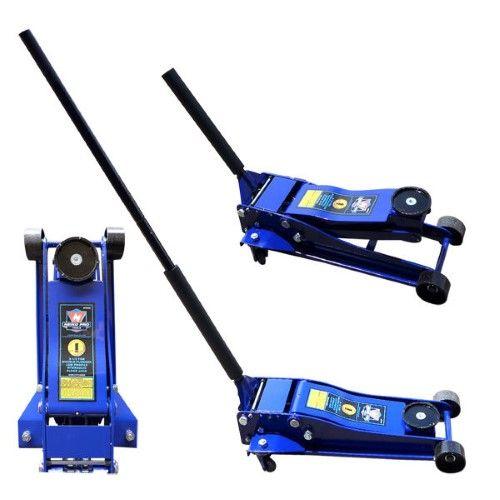 Neiko Pro 3 5 Ton Hydraulic Floor Jack Double Plunger Low Profile