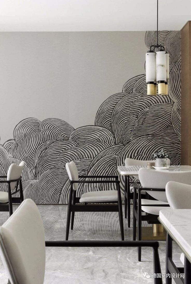 Modern accent wall design Interior, Bedroom wallpaper