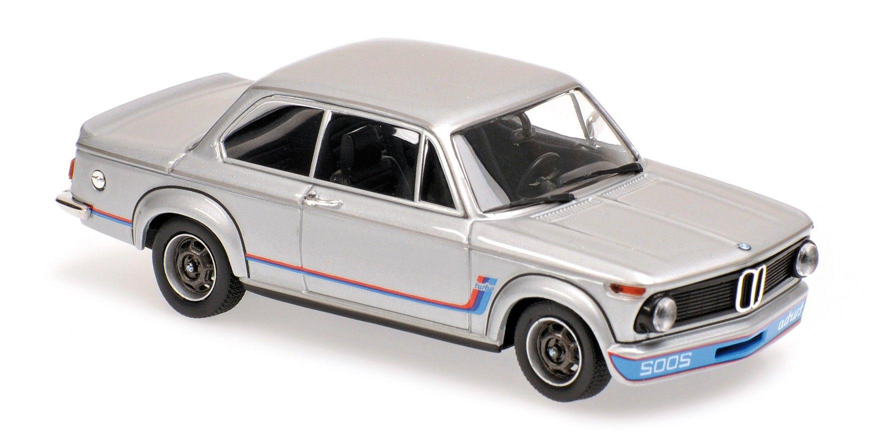 Bmw 2002 turbo 1973 silver maxichamps die cast hobbyland bmw 2002silvermodelsstreethtmlcars