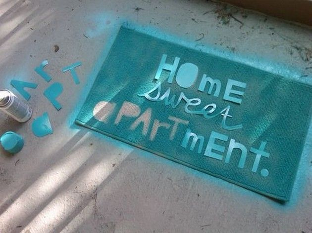 Diy Ideas For Apartment Dwellers 13 Pics Spray Paint