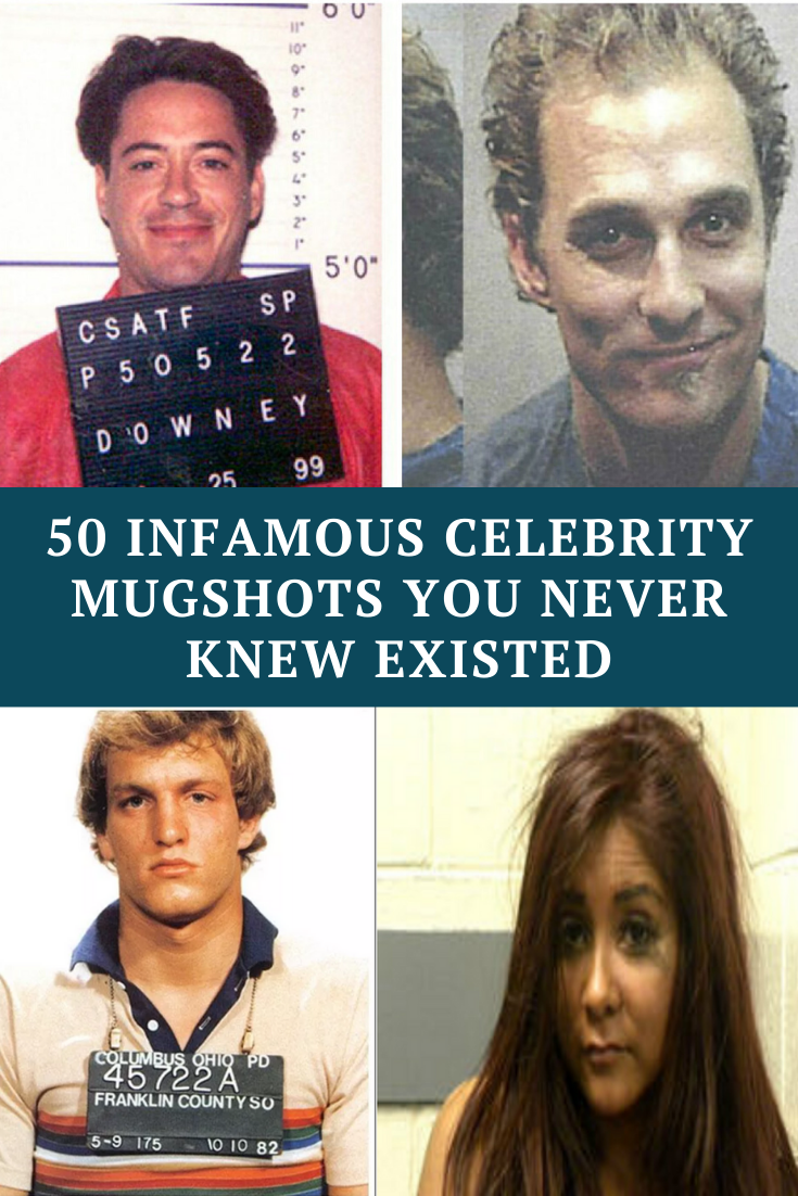 50 infamous celebrity mugshots you never knew existed