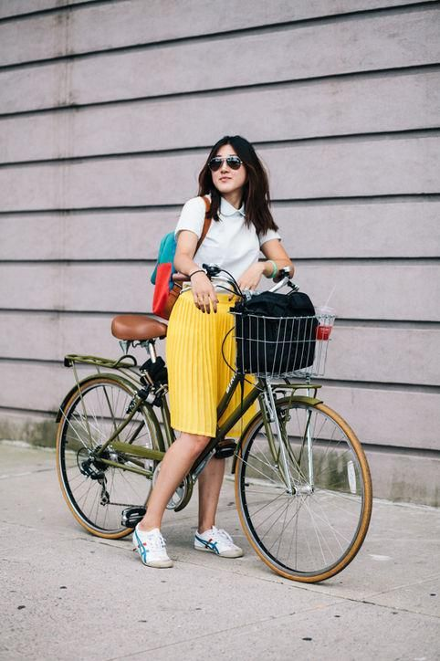 11 Cute Summer Outfits That You Can Ride A Bike In Biking Outfit
