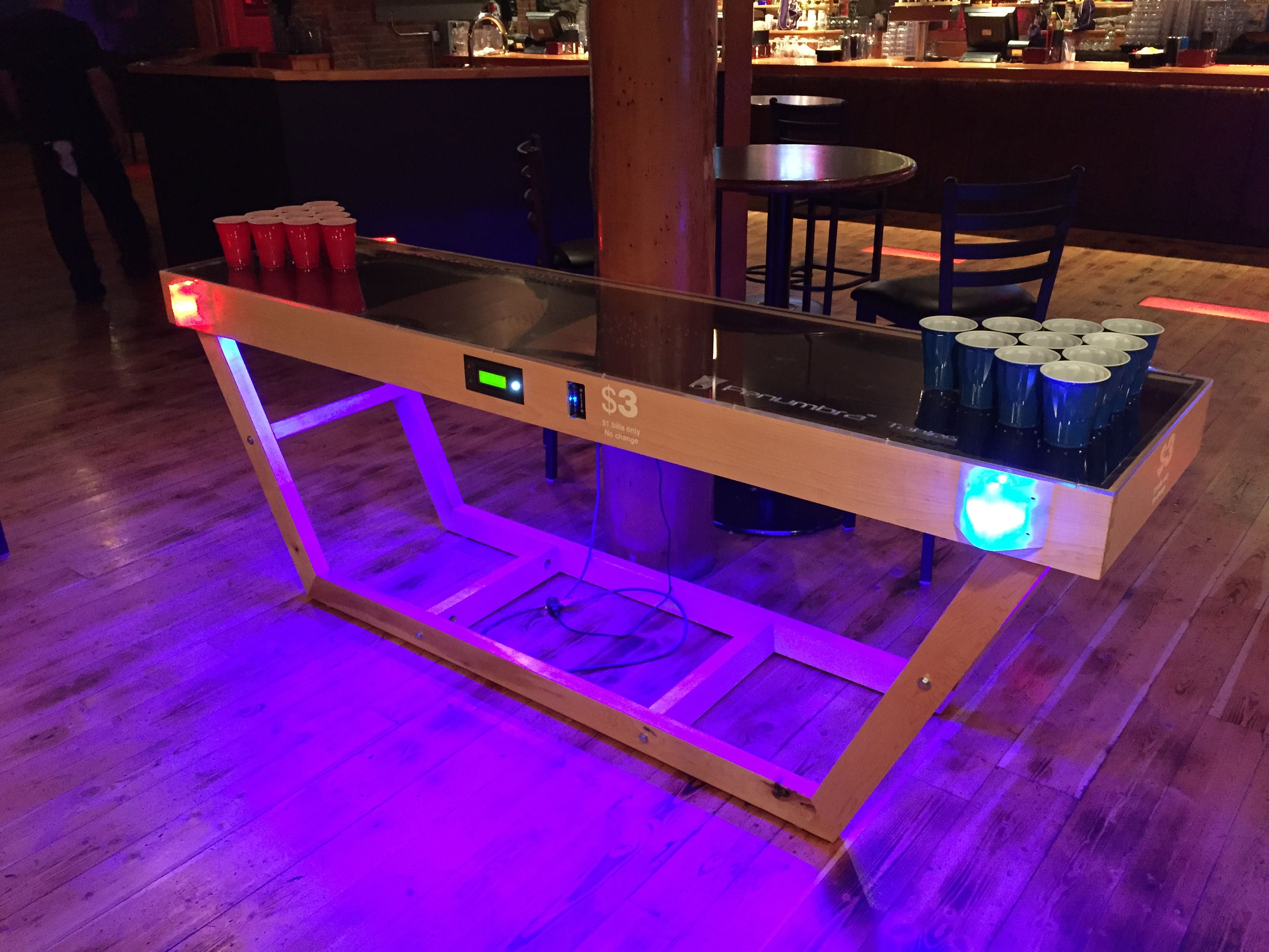 what an amazing beer pong table. Black Bedroom Furniture Sets. Home Design Ideas