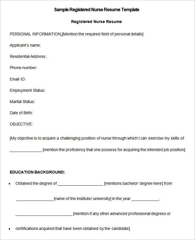 Sample Registered Nurse Resume templates , RN Case Manager Resume