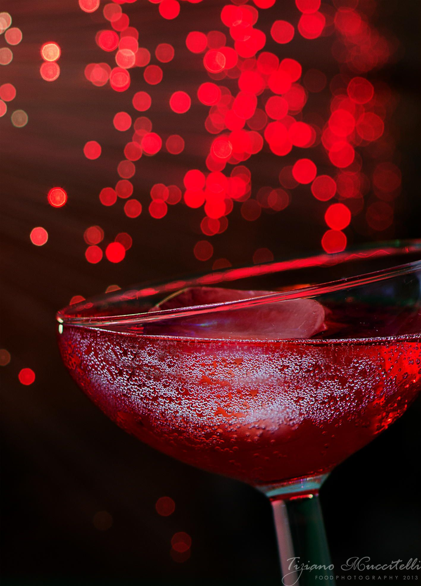 Red champagne...with ice by Chef Tiziano Muccitelli on 500px