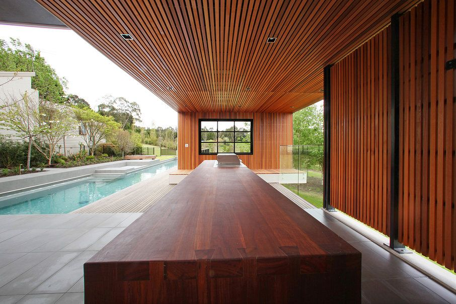 Outdoor Kitchen by Melbourne Contemporary Kitchens