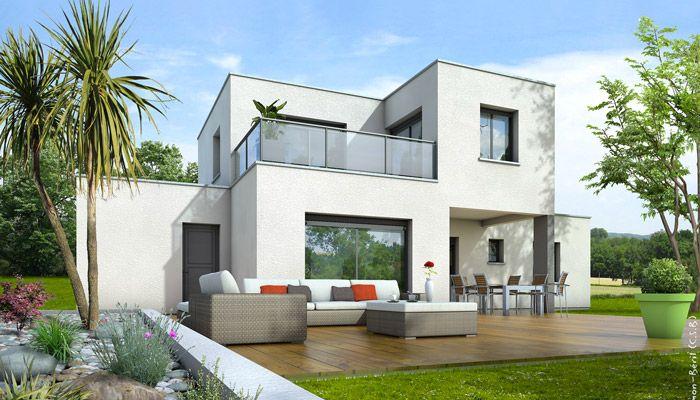 constructeur maison moderne longeville sur mer vendée 85   Depreux ...