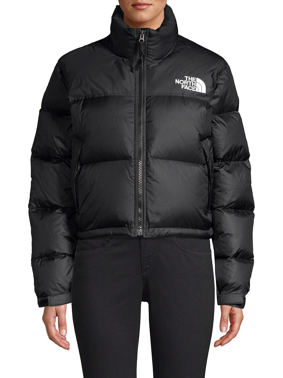 The North Face 1996 Nuptse Cropped Puffer Jacket Saksfifthavenue [ 1312 x 984 Pixel ]
