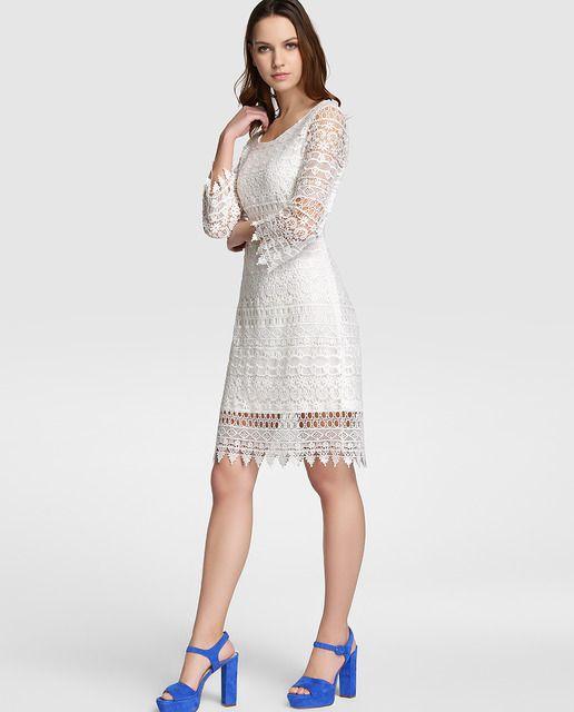 Vestidos blancos largos en el corte ingles