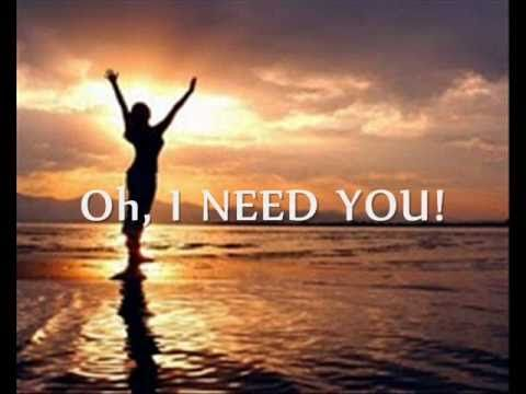 i need you  tye tribbett  g a greater anointing
