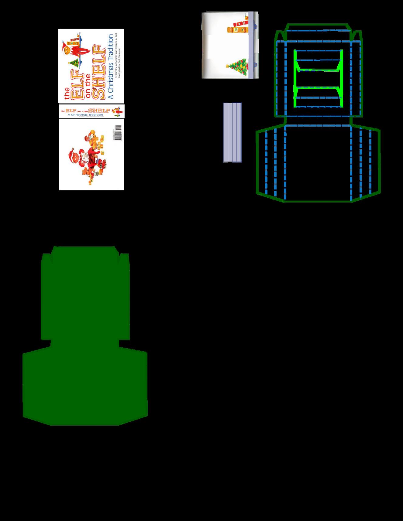 Printable Packaging For Mini Elf On The Shelf Elf Props Elf On The Shelf Elf Letters Printable