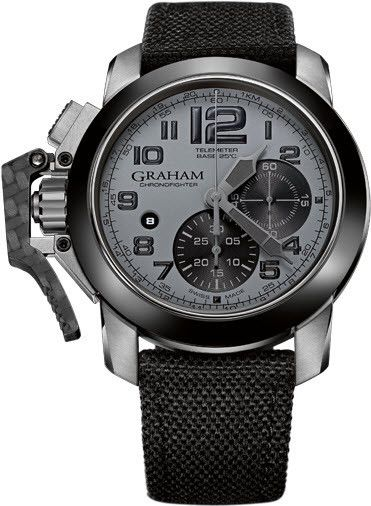 Graham Watch Chronofighter Oversize Ceramic Bezel #bezel-fixed #bracelet-strap-synthetic #brand-graham #case-material-steel #case-width-47mm #chronograph-yes #date-yes #delivery-timescale-4-7-days #dial-colour-grey #gender-mens #luxury #movement-automatic #official-stockist-for-graham-watches #packaging-graham-watch-packaging #style-sports #subcat-chronofighter-oversize #supplier-model-no-2ccac-s01a-t12s #warranty-graham-official-2-year-guarantee #water-resistant-100m