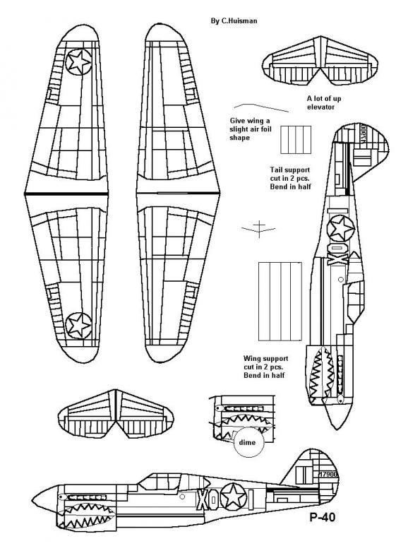 Pedagógiccos: Aviões de papel para montar