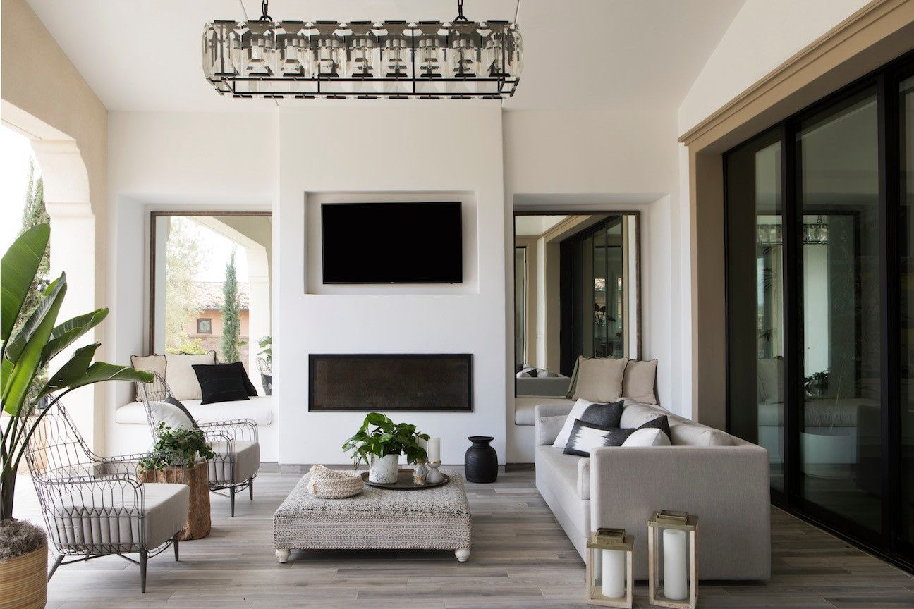 Kelly Hinchman Designer For Glam San Diego Home Tour Living Room Without Rug Rugs In Living Room Outdoor Living Room Living room no rug