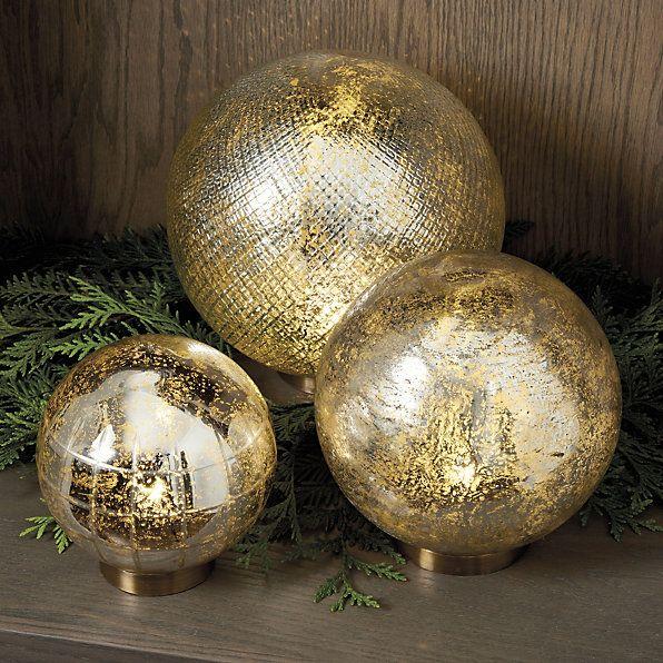 Mercury Glass Decorative Balls Mercury Glass Led Globe  Magical Mercury Glass  Pinterest