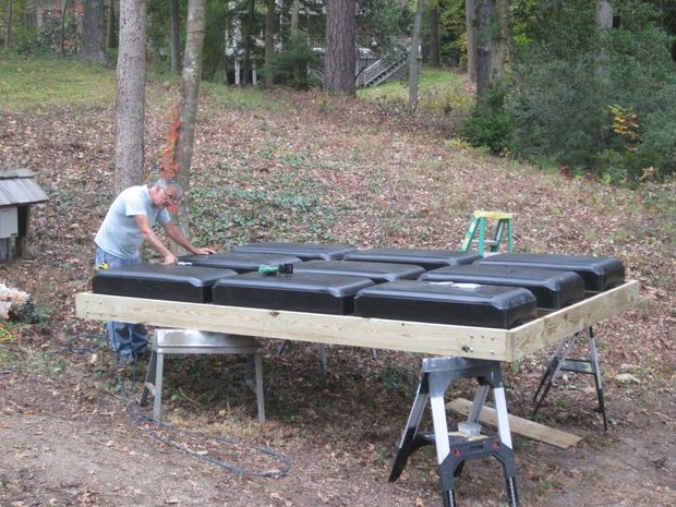 Build Your Own Floating Dock Lakes, Dock ideas and Pond