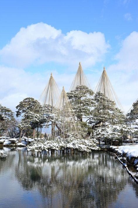 Kenrokuen garden, Ishikawa