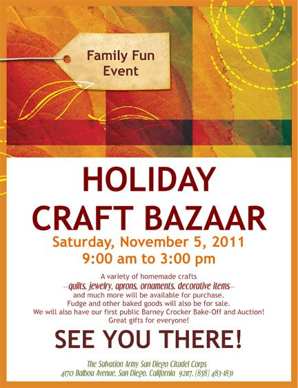 fall bazaar flyer template google search fall bazaar pinterest