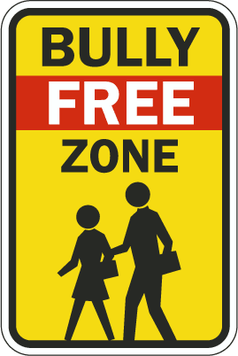 Free anti bullying signs