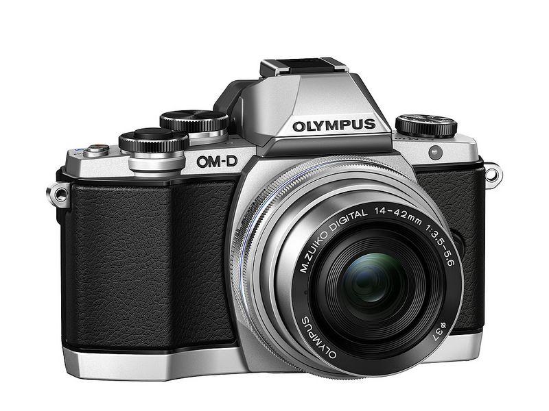 New Olympus Om D E M10 With M Zuiko Digital Ed 14 42mm 1 3 5 5 6 Ez Silver Silver Olympus Digital Camera Digital Camera Olympus System Camera