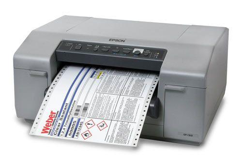 Epson Colorworks Gp C831 Inkjet Label Printer The Solution For Ghs Labeling Inkjet Labels Label Printer Label Software