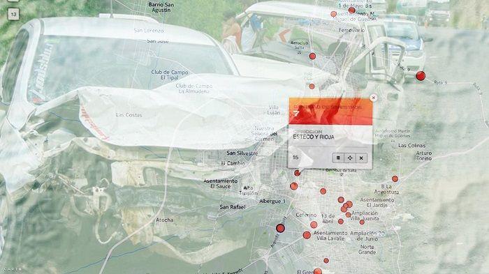 Mapa de siniestros viales: identificaron 31 puntos críticos en la ciudad: El error humano y la inapropiada infraestructura vial son las…