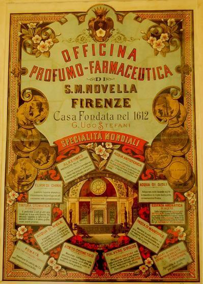 At the Farmaceutica di Santa Maria Novella (Pharmacy of Santa Maria Novella), in Florence, Italy. -