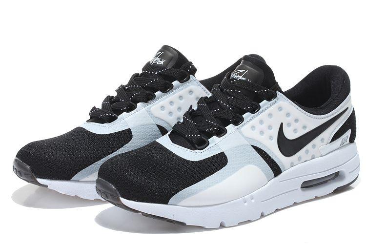 59b45322b9cd Authentic Nike Shoes For Sale Mens Nike Air Max Zero 87 Coal Black Bright  White Black -