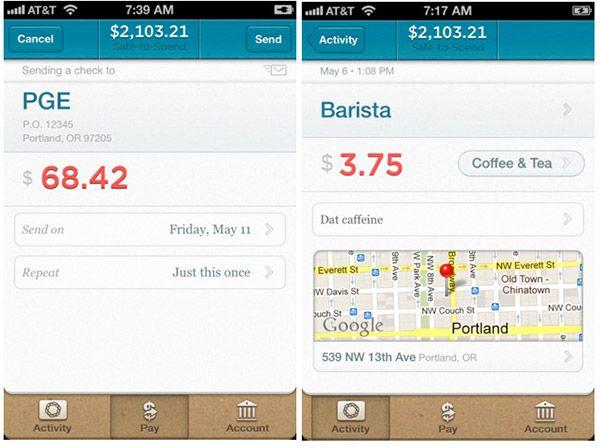 'Simple' banking app