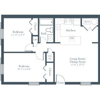 2 Bedroom Apartment Design Image Galleries Imagekb Com 2 Bedroom Apartment Floor Plan Apartment Plans Floor Plan Design