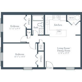 2 Bedroom Apartment Design Image Galleries Imagekb