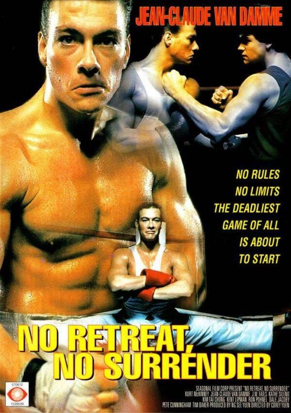 10 1 14 No Retreat No Surrender 2 5 Stars Van Damme Peliculas Cine