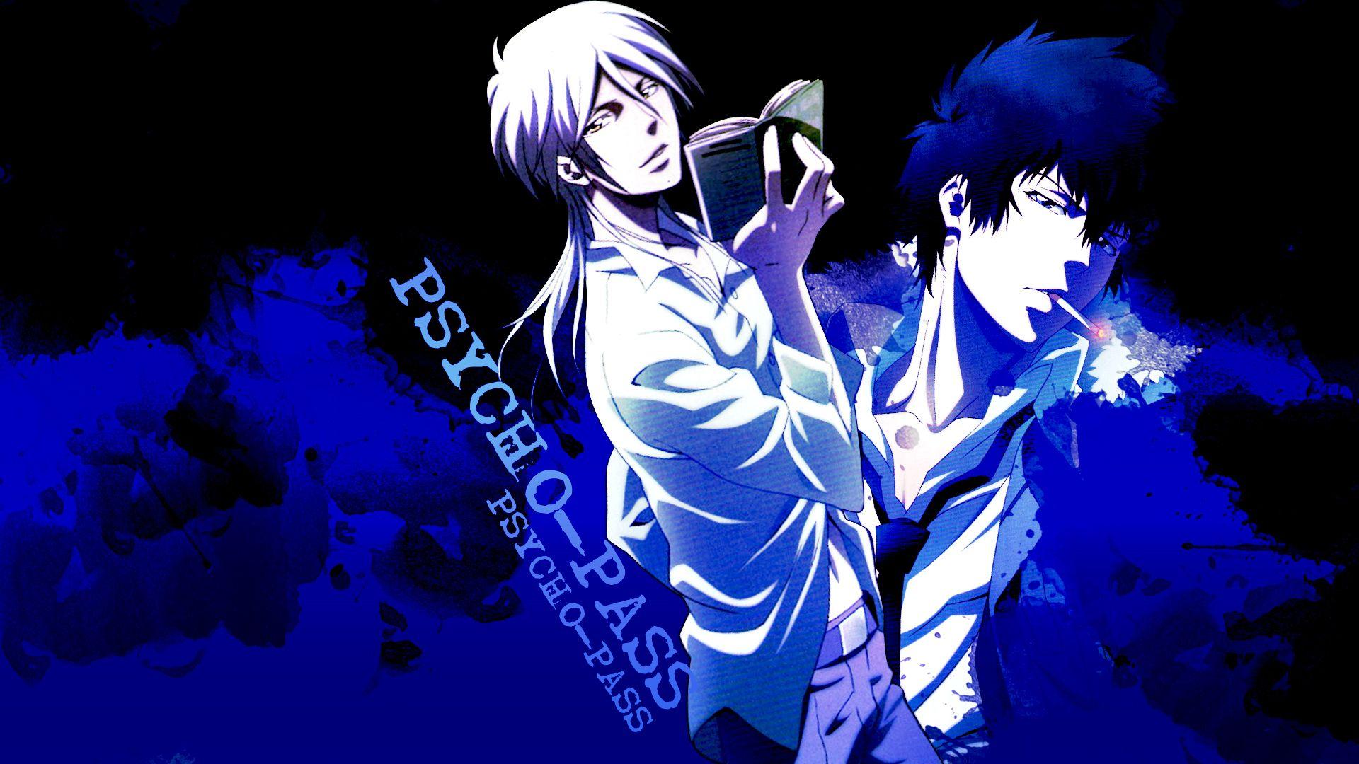 Makishima and Kougami Psycho Pass Wallpaper Psycho pass