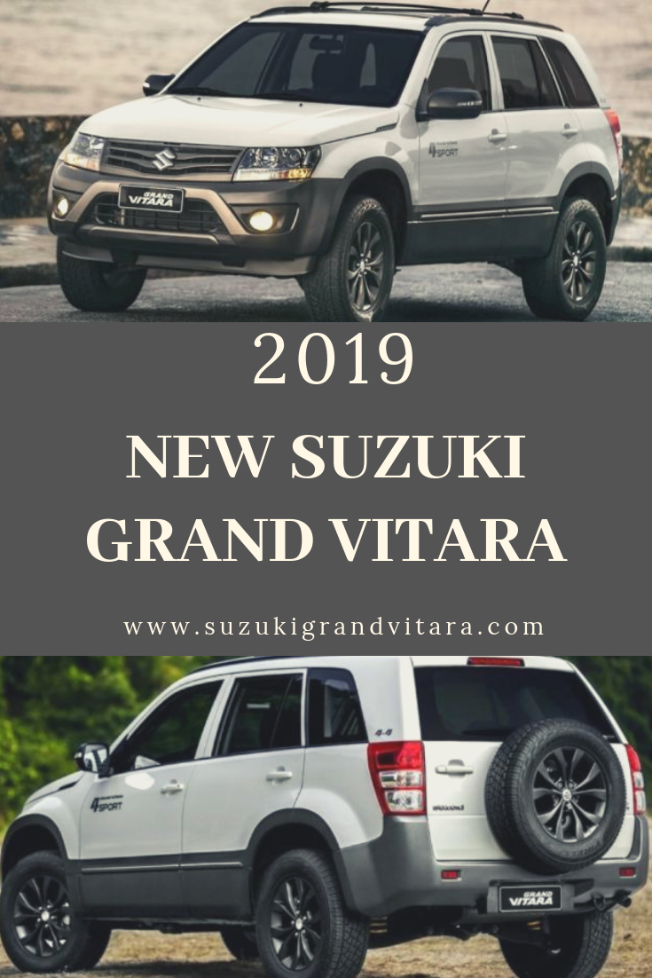 New Suzuki Grand Vitara 2019 Grand Vitara Suzuki Grand Vitara Suzuki