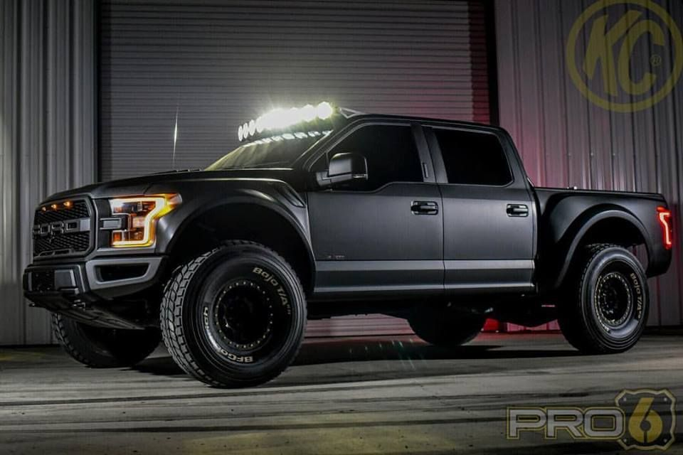 Ford Raptor Matte Black With Images Ford Raptor Black Ford