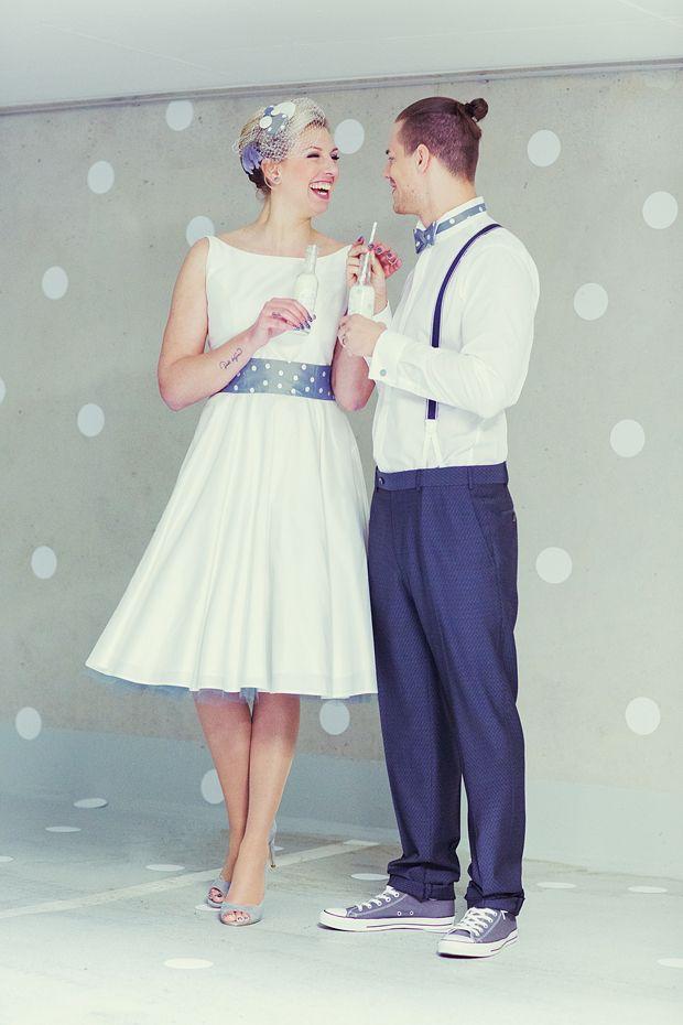 Pünktchen trifft Hochzeit: ein modernes Styled Shoot   Verlobung ...