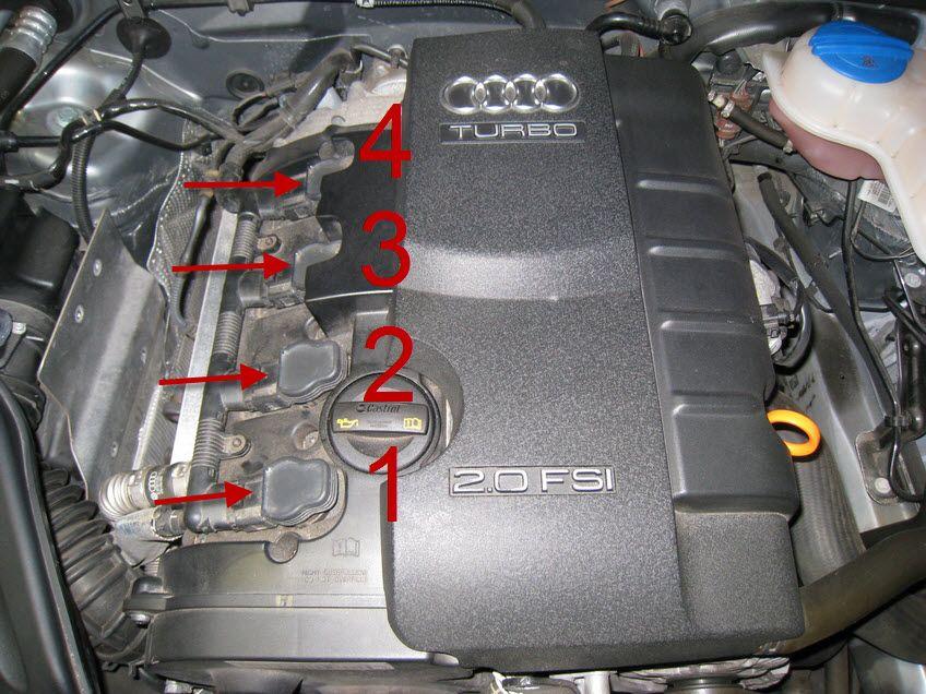 Audi A4 B7 2 0t Coil Pack Replacement 03 Audi A4 B7 Audi Audi A4