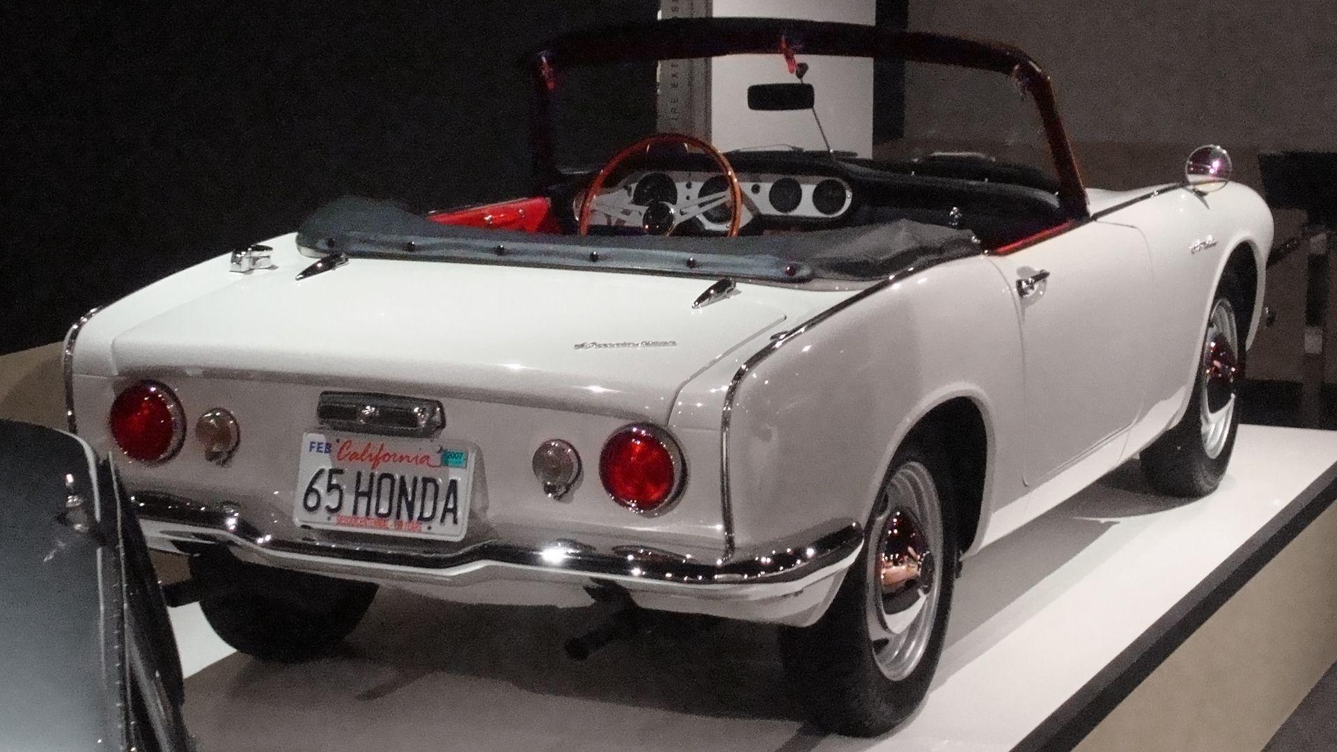 Beau Honda S600   The First Honda Sport Car