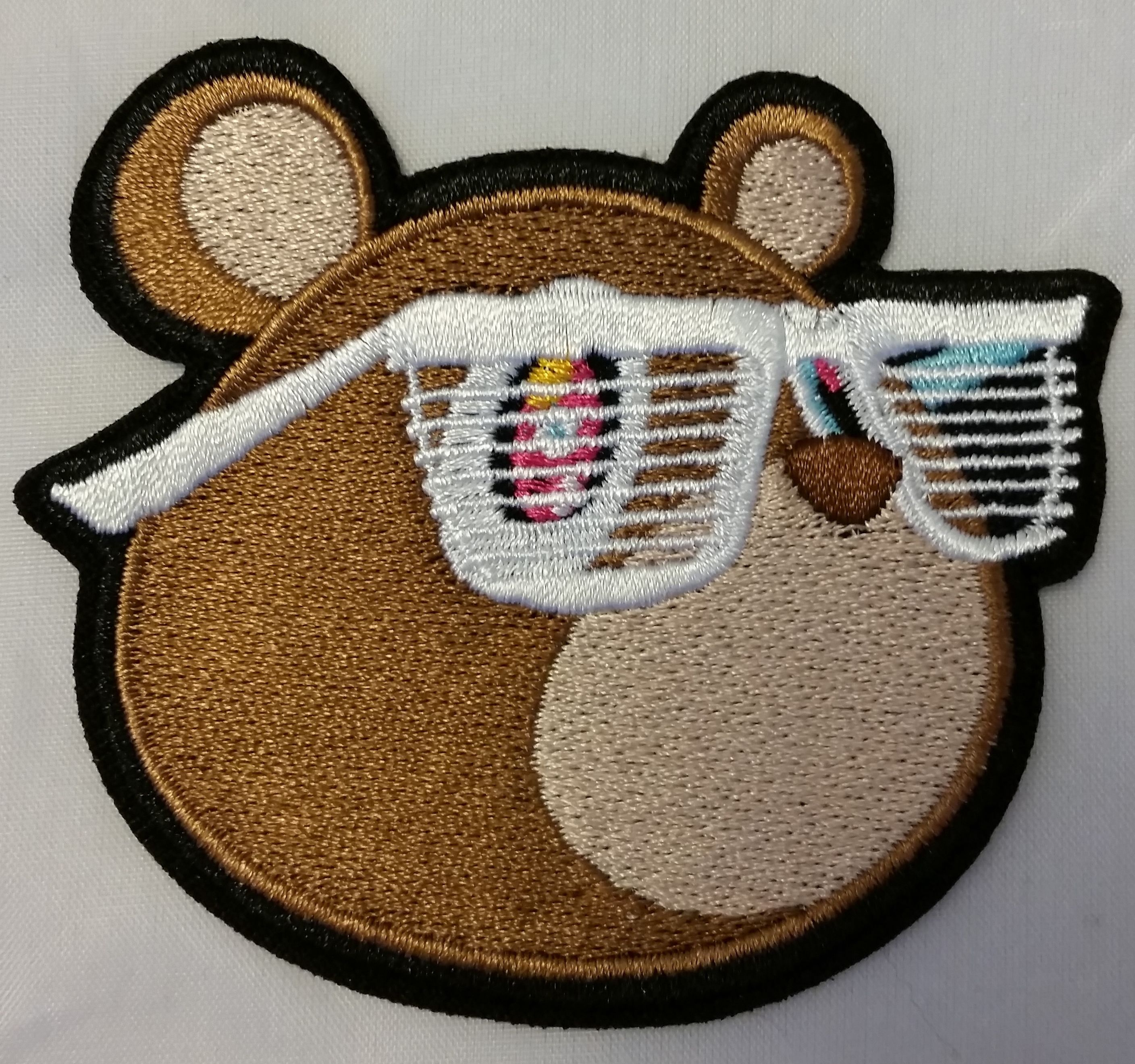 iron on patch featuring the Yeezus bear  back in stock and
